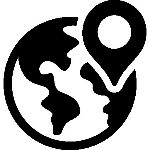 MAPA CON LA UBICACION DE LOS LUGARES MAS IMPORTANTES